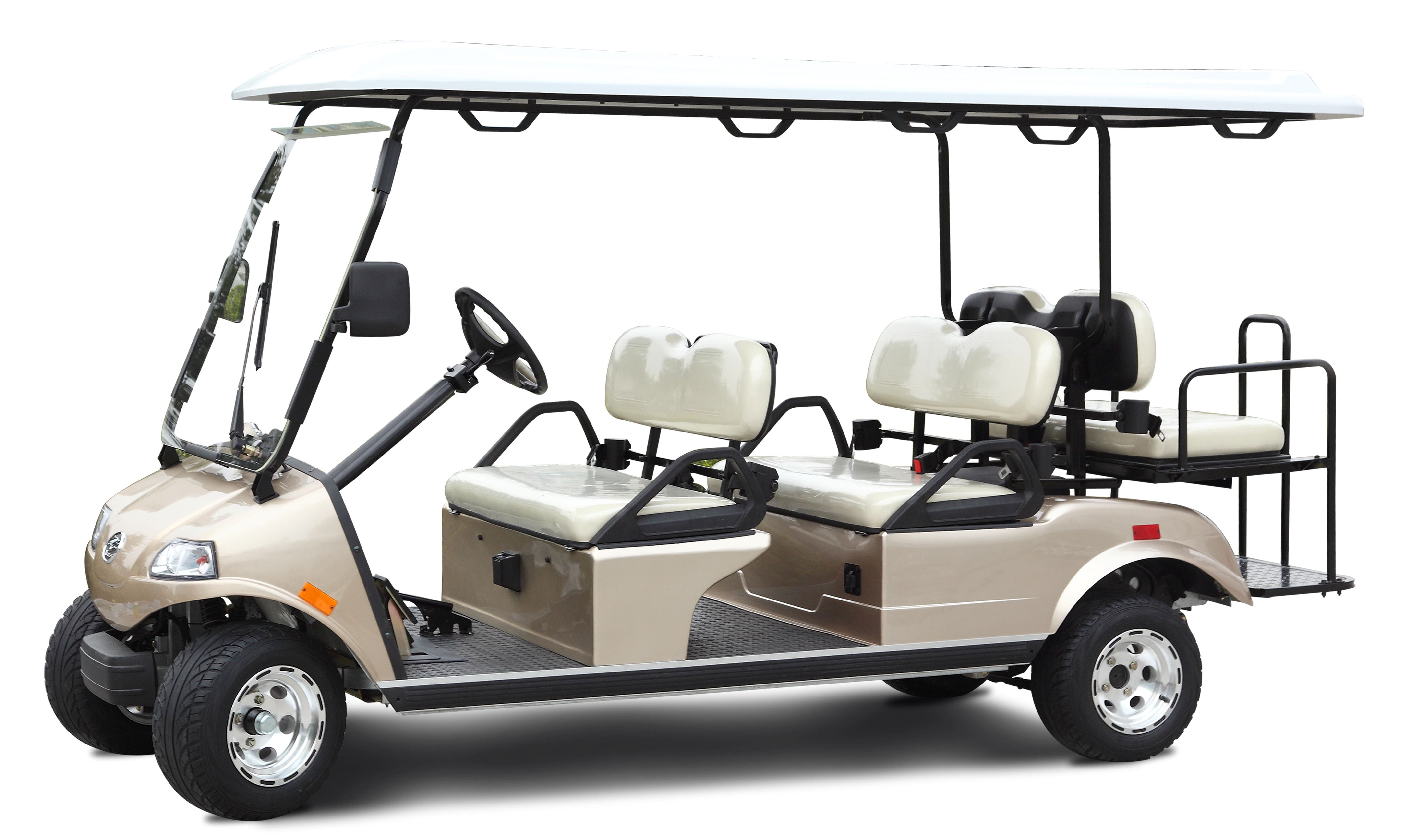 Custom Used Golf Cart