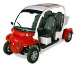 Capistrano Golf Cars Red Gem Golf Cart 2 & 4 Passenger