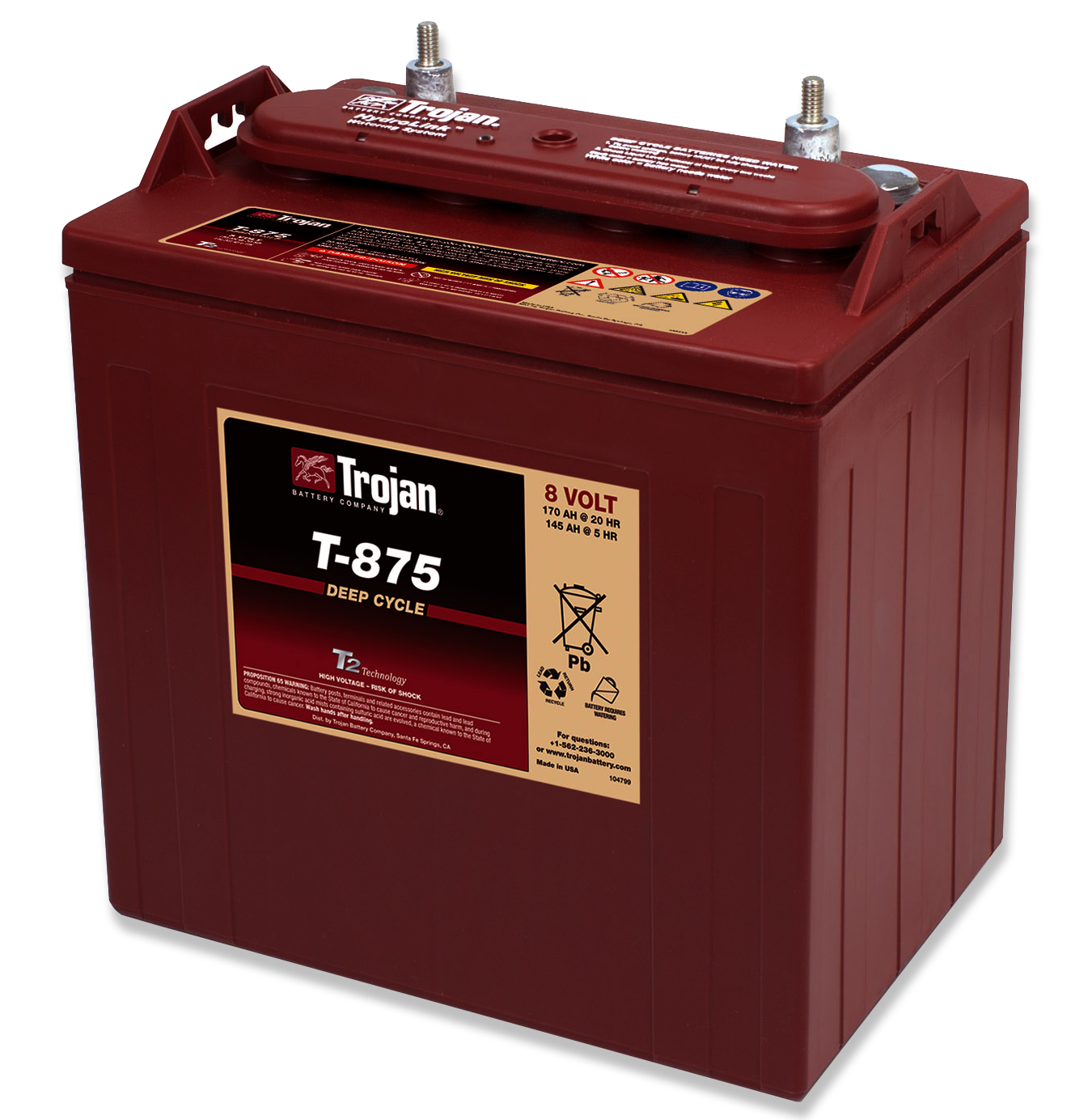 Replacement Battery for Golf Carts