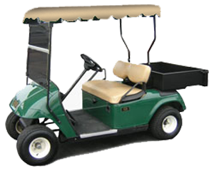 Plan your wedding with our golf car rentals for Golf cart plans