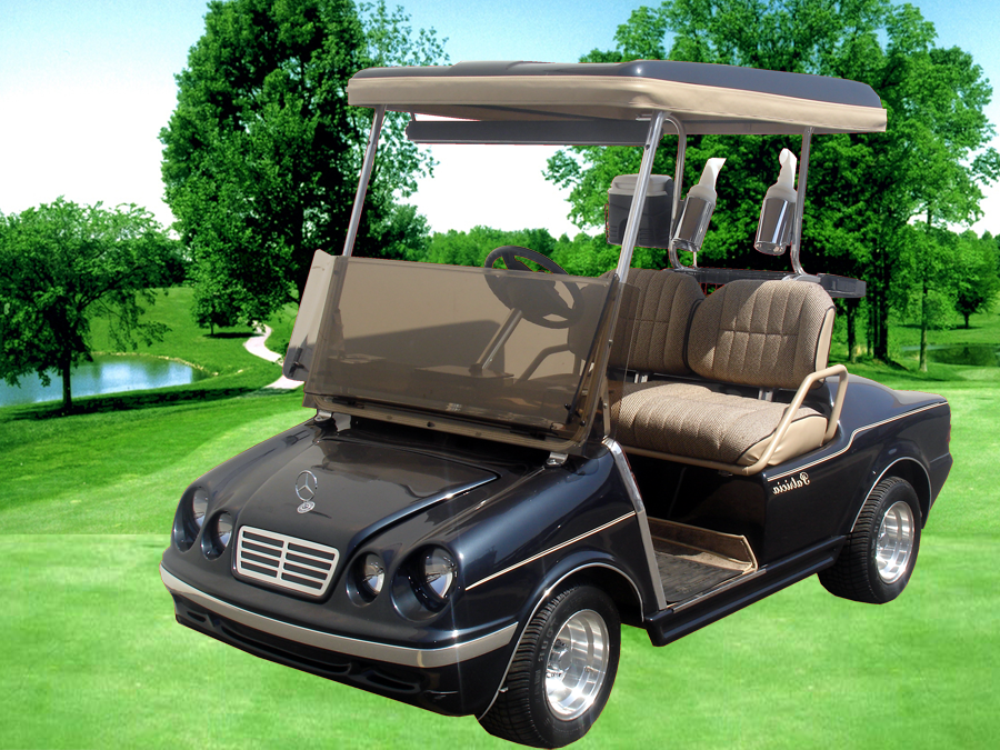 Mercedes benz golf cart for Mercedes benz garia golf cart price